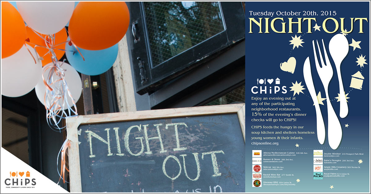 Chips night out 2015 chips for Athena mediterranean cuisine brooklyn ny