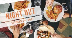 Oct. 24: Dine Out, Do Good